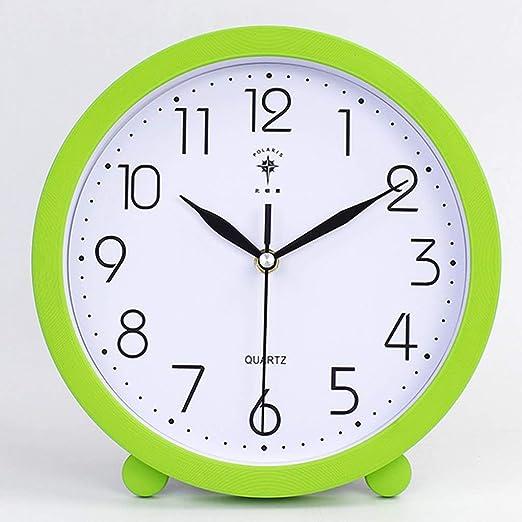 JBP max Reloj de jardín Soporte Reloj Reloj silencioso Moderno Minimalista Ronda péndulo Reloj salón Creativo Reloj grande-JBP31: Amazon.es: Hogar