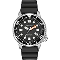 Citizen Men's Promaster Diver Solar Powered Watch with Rubber Strap