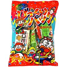 Japanese Dagashi Assortment Snacks Sweets Candies (Yaokin Otanoshimi Bikkuri Pack) 9 packs of dagashi