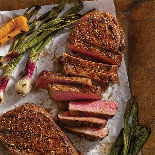 Omaha Steaks 8 (11 oz.) Boneless New York Strips by Omaha Steaks