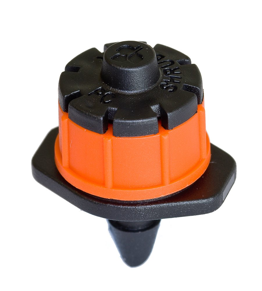 Antelco Shrubbler 360 Degree PC Drip Irrigation Dripper- 100 pack