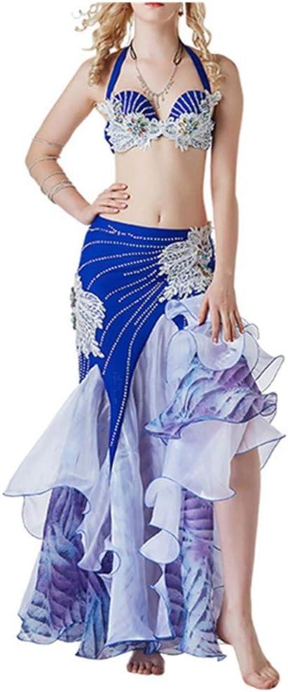 Joycaling Bailar Trajes de Desgaste Falda de Danza del Vientre ...
