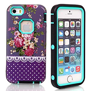 5C cover;Ezydigital Carryberry Hot Sell Case Cover For 5C iPhone 5C (Green)