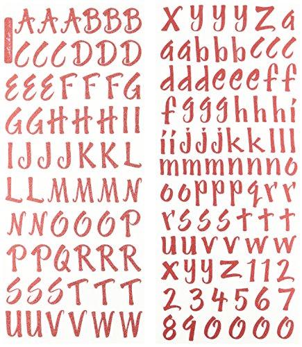 Red Letter Sheet - 8