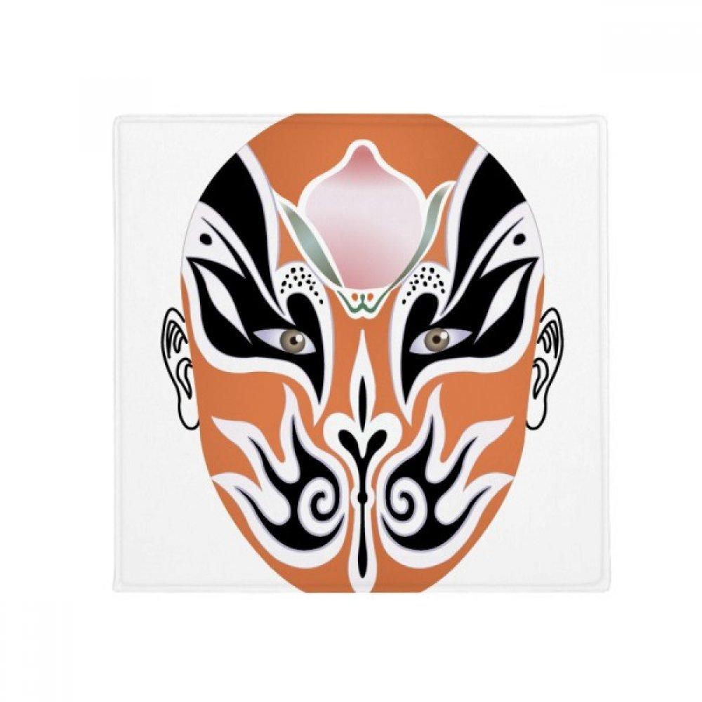 DIYthinker Peking Opera Facial Mask colorful Jinshuiqiao Anti-Slip Floor Pet Mat Square Home Kitchen Door 80Cm Gift
