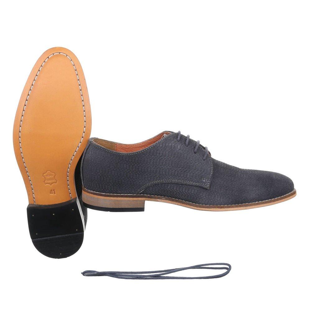MMUGA Herren Schnür Schuhe Budapester Stil: