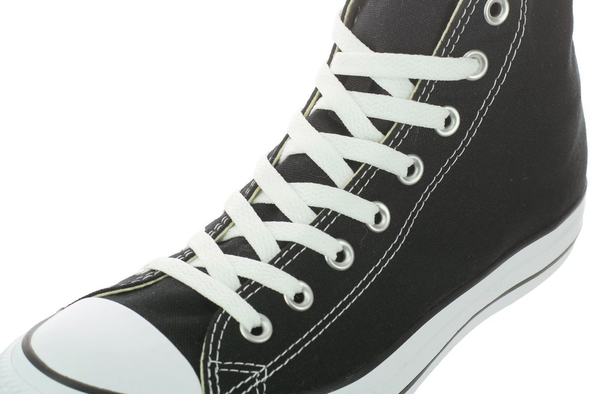 Converse Chuck Taylor All Star Canvas High Top Sneaker Women B075VF6458 6.5 B(M) US Women Sneaker / 4.5 D(M) US Men|Black d46ff5