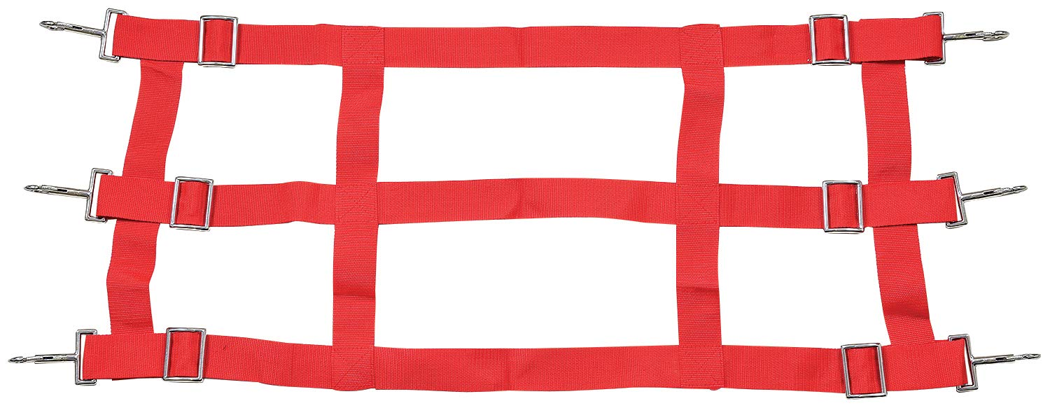 Tough 1 Nylon Stall Guard, Red by Tough 1 (Image #1)