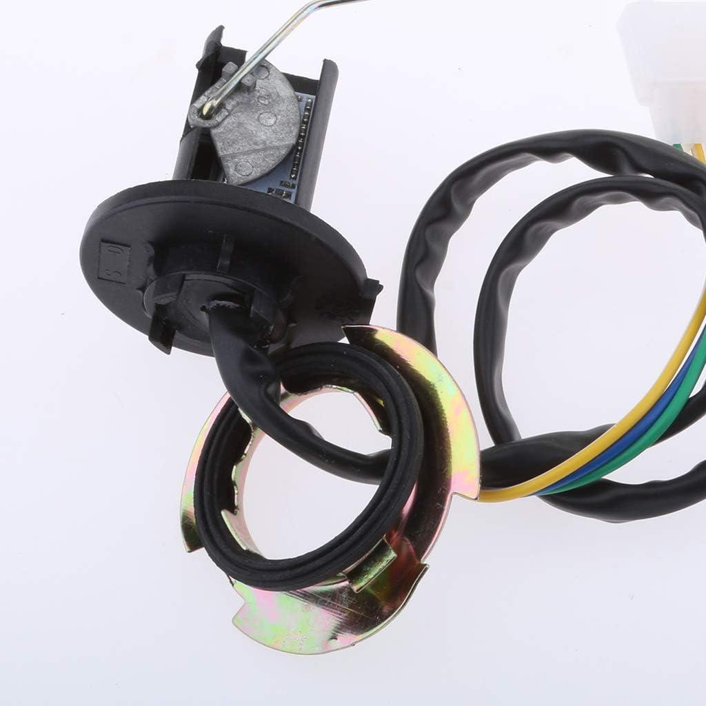 SDENSHI Motorrad Kraftstoffstandsensor F/üllstandsanzeige aus ABS-Kunststoff und Gummi passend f/ür 50ccm 125ccm 150ccm GY6 Scooter