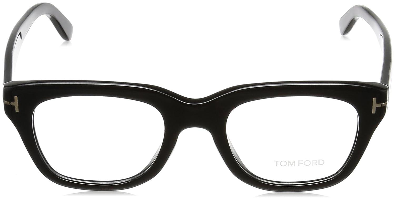 1ee7fab824e Eyeglasses Tom Ford FT 5178 -F 001 shiny black at Amazon Men s Clothing  store