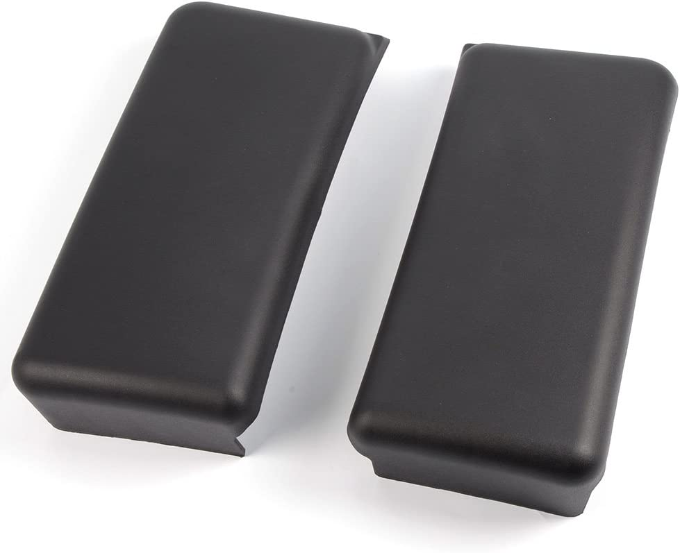 1 Pair Black Front Bumper Guards Inserts Pads Caps FOR 2018 2019 2020 FORD F150