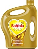 Saffola Gold Edible Oil - 5 lit Jar