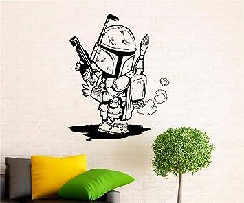 pegatina de pared frases Storm Trooper Tatuajes de pared Star Wars ...