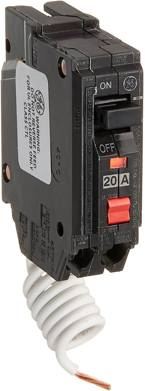 GE Energy Industrial Solutions TV206977 GE 20A SP GFCI Breaker