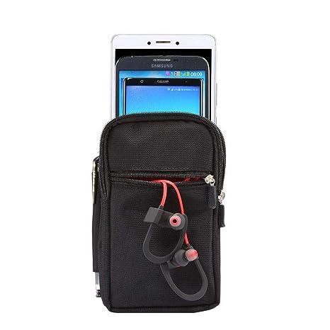 Amazon.com: DFV mobile - Funda Multiusos con 4 Compartimentos para Cinturon para=> ARCHOS Elements 62 Xenon (2015) > XXL Negra (19 x 11.5 cm): Cell Phones ...