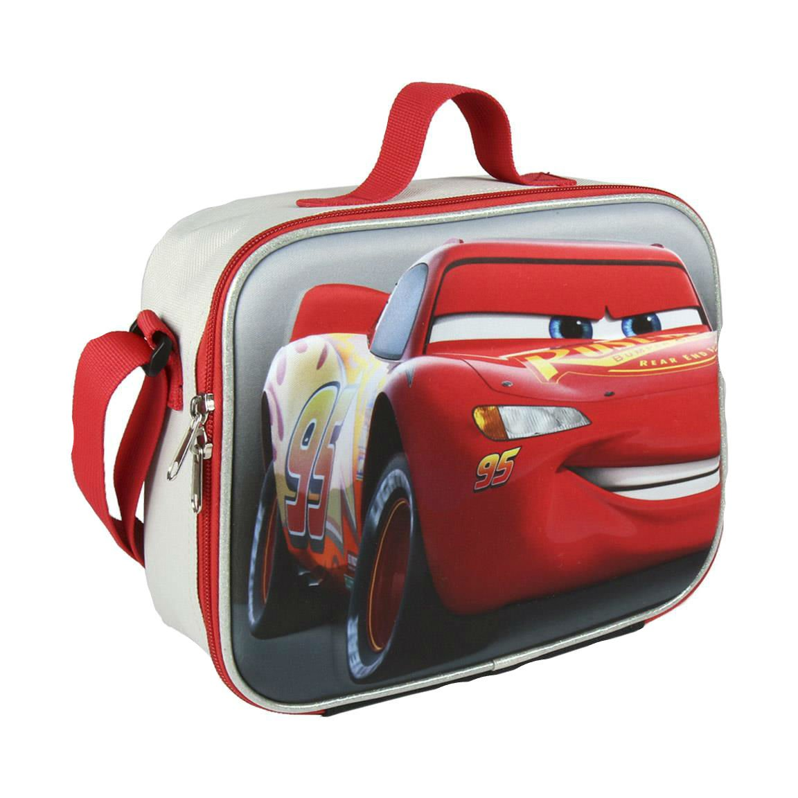Cerd/á 3D Cars Bolso de Viaje 23 cm Gris