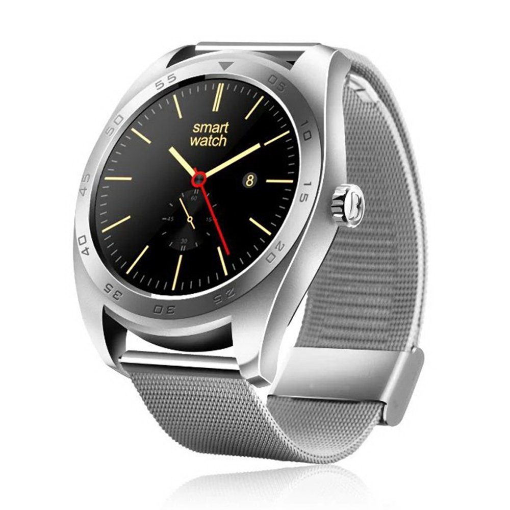 Amazon.com: MOREFINE Man Smartwatch Activity Tracker 1.2 ...