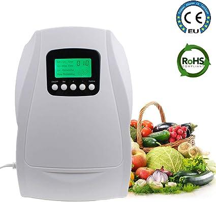 Generador portátil de ozono activo esterilizador de aire purificador de aire limpieza frutas verduras agua preparación Ozonator Ionizator: Amazon.es: Coche y moto