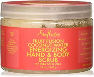 product image for Shea Moisture Fruit Fusion Coconut Water Energizing Hand & Body Scrub | 12 Ounce