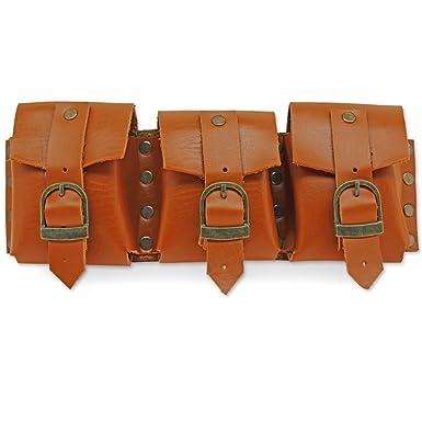 Amazon.com: Steampunk Bandolier MultiPocket Belt or Shoulder Pouch