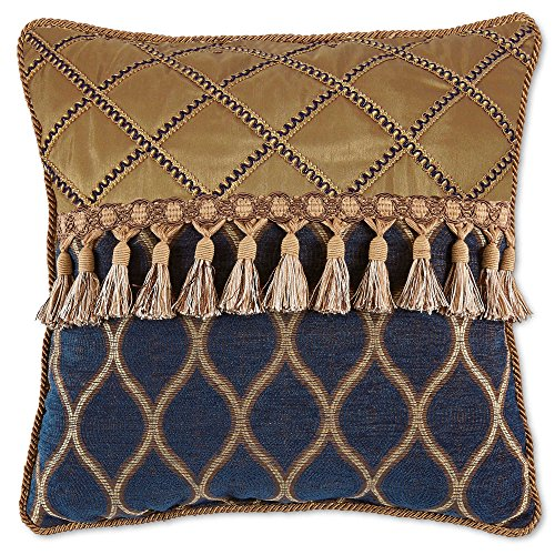 Croscill Julien Fashion 18-Inch Square Throw Pillow