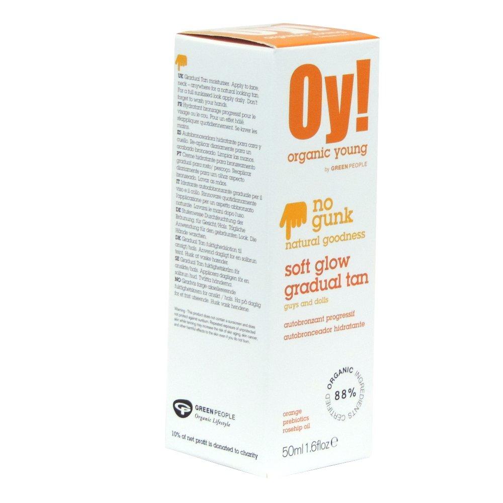 Oy! - Organic Young - Soft Glow Gradual Tan - 50ml (Case of 6)