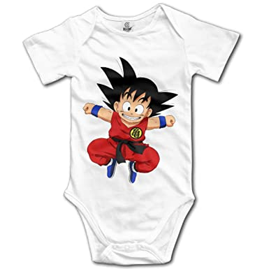 Amazon Com Cute Anime Dragon Ball Z Son Goku Newborn Baby Onesie