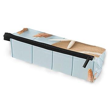 BENNIGIRY - Estuche de madera para lápices y cosméticos ...