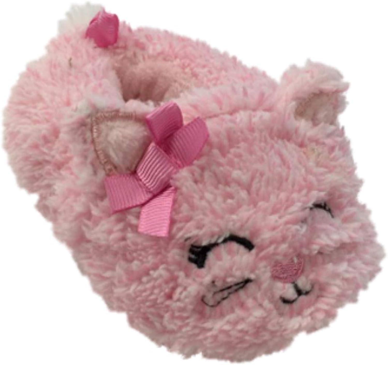 Infant Girls Plush Pink Kitty Cat Baby
