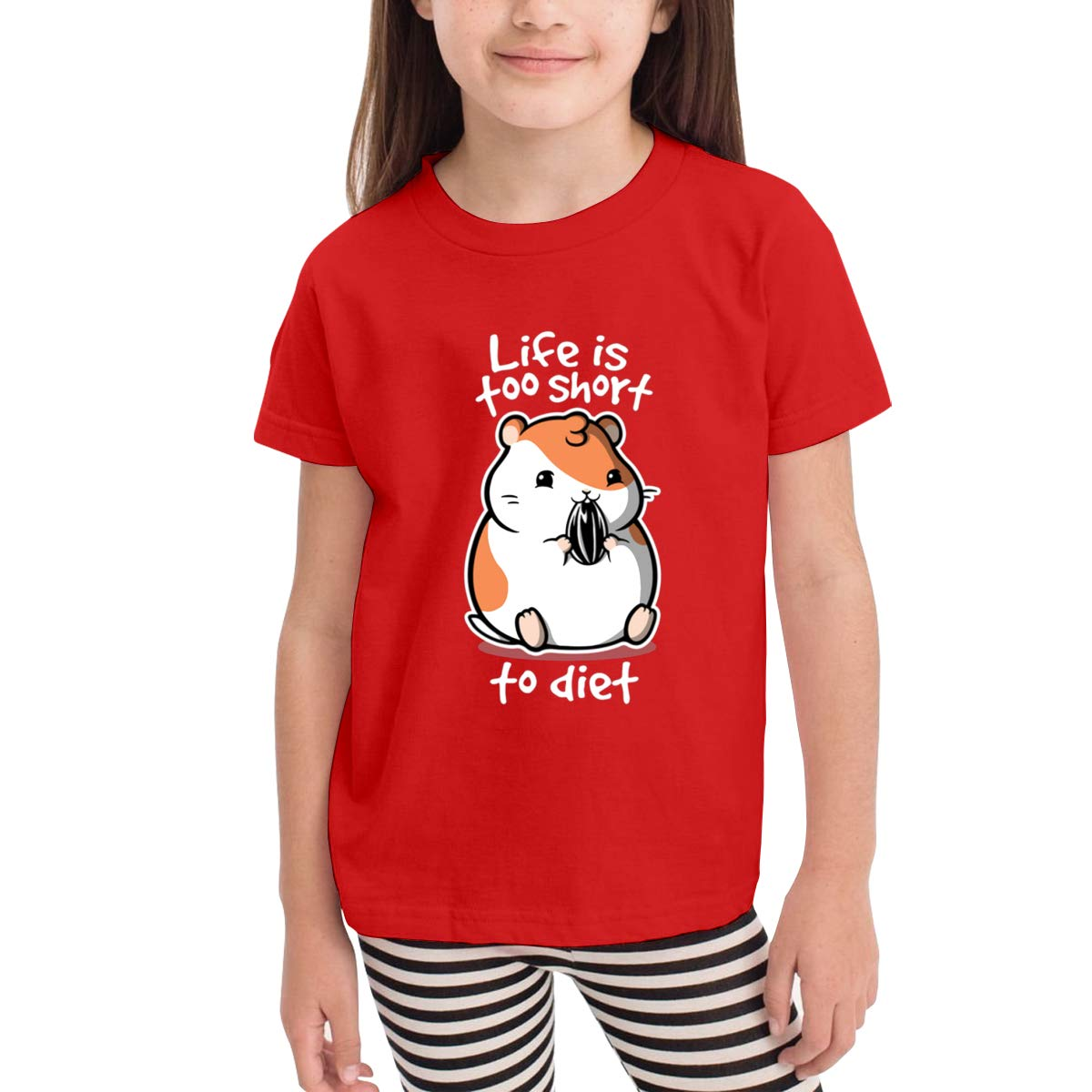 Onlybabycare Fat Life 100/% Cotton Toddler Baby Boys Girls Kids Short Sleeve T Shirt Top Tee Clothes 2-6 T