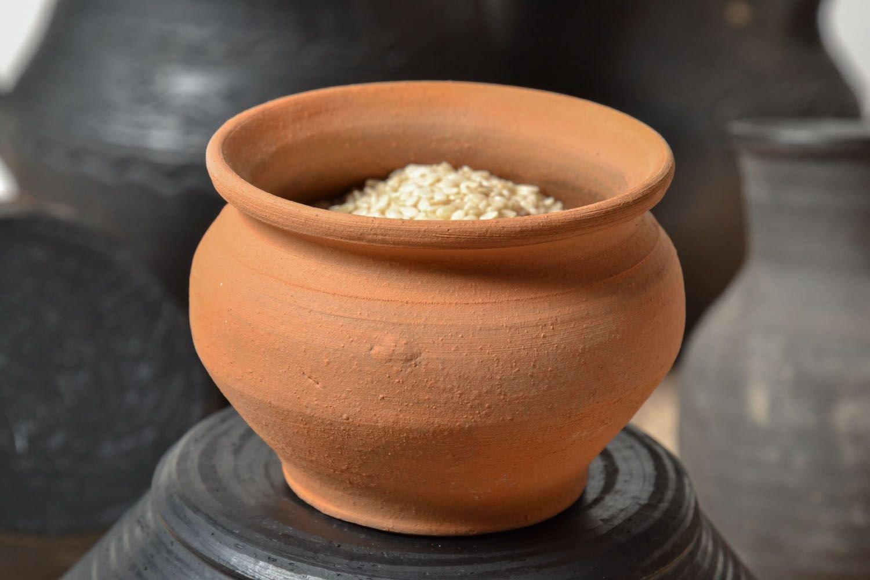 Amazon.com Small Handmade Clay Ceramic Decorative Pot