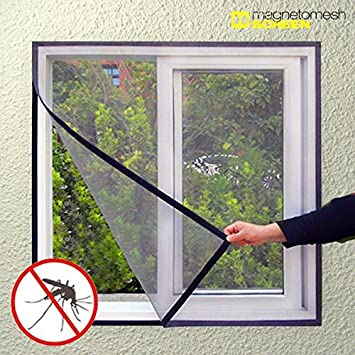 2 X Insect Screen Window Aluminium Door 120 X 100 Cm Price For Single Piece 6 5 X20ac Amazon Co Uk Office Products