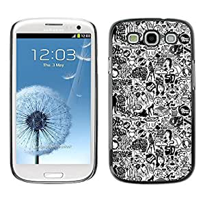 LASTONE PHONE CASE / Slim Protector Hard Shell Cover Case for Samsung Galaxy S3 I9300 / 1970 Woman Style Fashion Make Up Art by ruishername