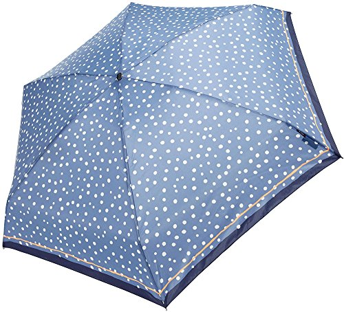 knirps-815-499-2-compact-manual-open-close-travel-umbrella-one-size-flakes-blue