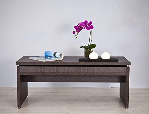 TOP KIT | Mesa de Centro Manhattan 2028-120 x 50 x 50 | Wengué ...