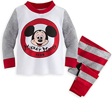 Disney Mickey Mouse PJ PALS for Baby Size 9-12 MO Multi
