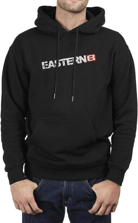 XQHNG Eastern-Bikes-Logo Mens Novelty Pullover Hoodies Loose Sweatshirts