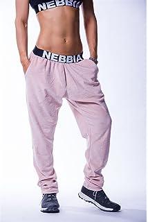 Nebbia Velvet Pants 649 Jogger Trainingshose grau