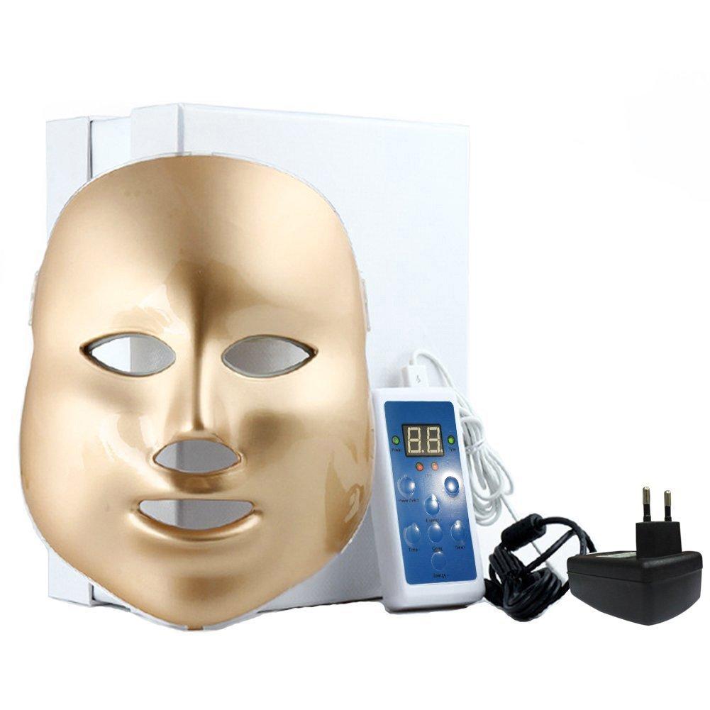CrisNails® Masque de rajeunissement LED 7couleurs pour soin du visage Cris nails