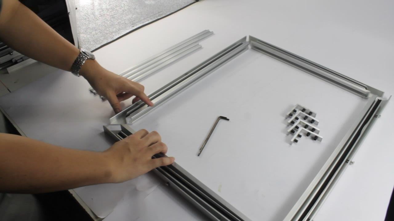 Brand New Self-tensioning Screen Frame For Screen Printing Kit A Multi-Functional Reusable Tool DIY(Item#219304) (Silver)