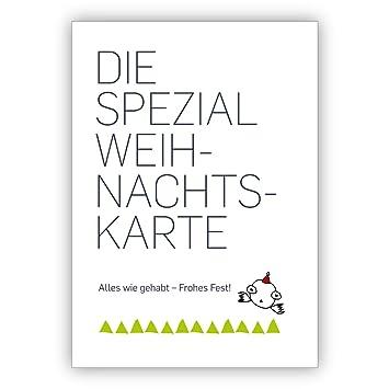 Coole Spruch Weihnachtskarte Die Spezial Weihnachtskarte Alles Wie