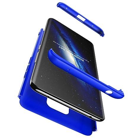 PAIPAIGUAN Funda Huawei Mate 20 Pro Carcasa Huawei Mate 20 Pro[Protector de Pantalla de Vidrio Templado] 3 en 1 Desmontable Anti-Arañazos Huawei Mate ...