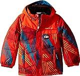 Obermeyer Kids Baby Boy's Hawk Jacket (Toddler/Little Kids/Big Kids) Thunder Red 8
