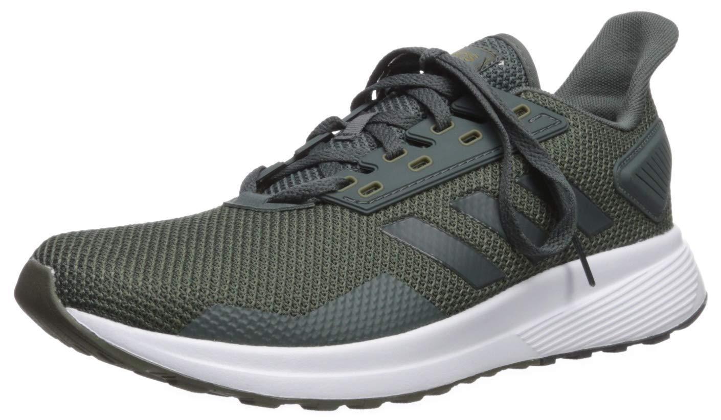 adidas Men's Duramo 9 Running Shoe, Legend Ivy/raw Khaki, 6.5 M US