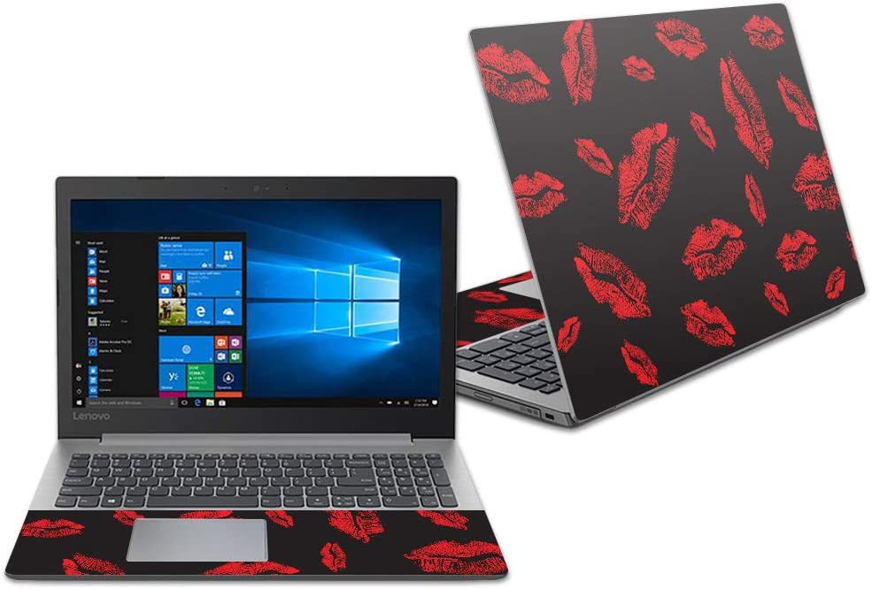 """Mightyskins Skin Compatible with Lenovo Ideapad 330 14"""" (2018) - Kiss Me   Protective, Durable, and Unique Vinyl Decal Wrap Cover   Easy to Apply, Remove, and Change Styles   Made in The USA"""