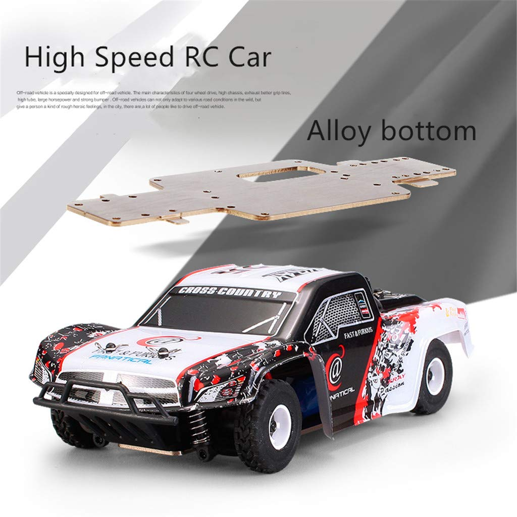 1:28 Remote Control RC Racing Car 2.4Ghz 4WD High Speed Off Road RC Car Electric Remote Control Truck RC Drift Car Toys for Kids & Adults by DaoAG (Image #2)