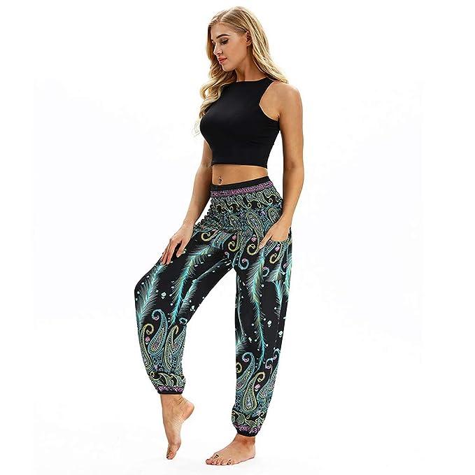 Amazon.com: Yoga Pants Women Leggings Bloomers Dance Taichi ...