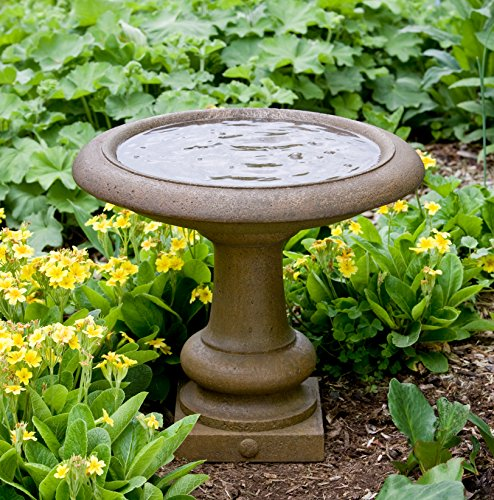 (Campania International B-126-CB Williamsburg Summer House Birdbath, Copper Bronze Finish )