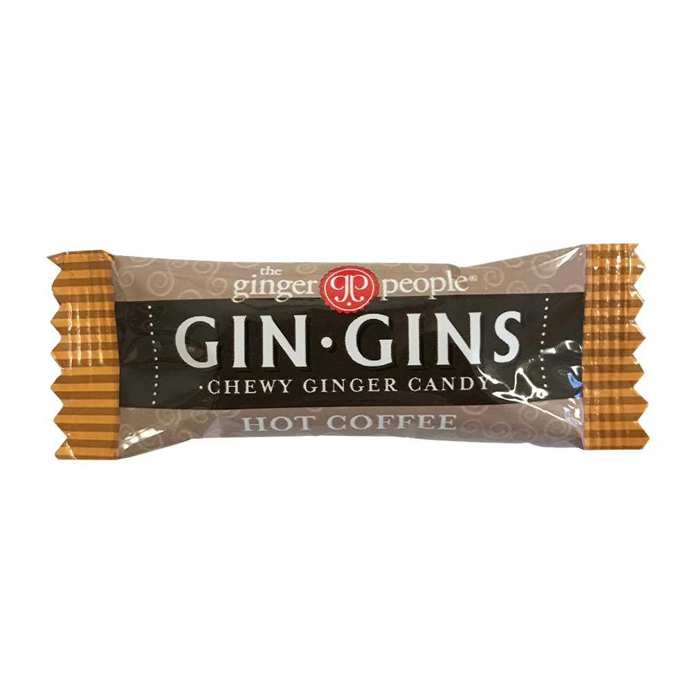 The Ginger People Hot Coffee Ginger Chews, 11-Pound