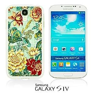 OnlineBestDigitalTM - Flower Pattern Hardback Case for Samsung Galaxy S4 IV I9500 / I9505 - Lotus Flower